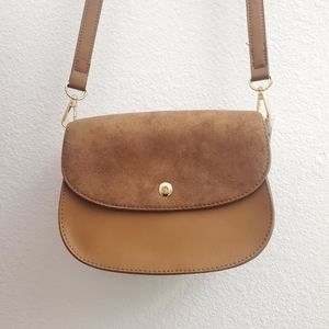 NWOT Gap Factory Faux Leather Crossbody ACC4